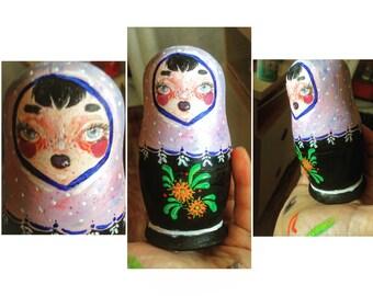 Handpainted Custom Matrjoschka