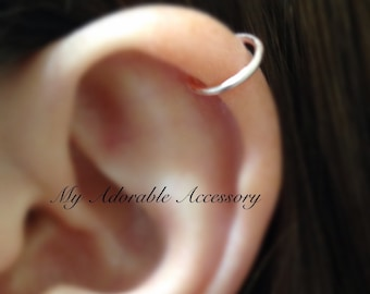 Fake Cartilage Piercing, Ear Cuff, Fake Piercing, Cartilage Ear Cuff