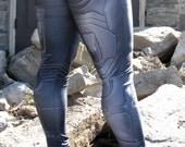 NEW! TAFI Halo Suit Leggings - Sci-Fi Body Armor Undersuit Video Game-inspired Costume Yoga Pants 2015 Black Milk Galaxy CosPlay Print