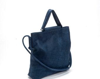 Oversize leather bag | Etsy