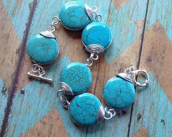 Southwest Bracelet, Turquoise Bracelet, Southwestern Bracelet, Gift For Her, Southwest Jewelry, Southwestern Jewelry