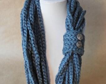 Crochet Necklace Cowl