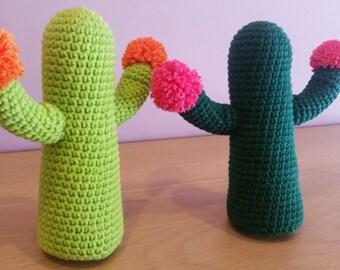 Crochet Cactus Amigurumi - Handmade Crochet Amigurumi Toy Doll - Plant - Cactus Crochet - Amigurumi Cactus