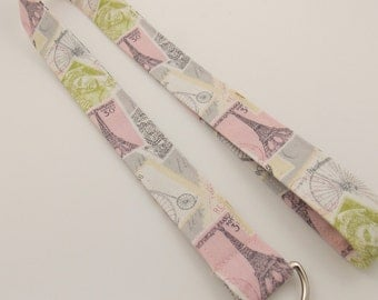 Teacher Lanyard Paris Lanyard Eiffel Tower Lanyard  Nurse Lanyard Postage Stamp Lanyard Europe Lanyard Paris France Lanyard ID Badge Holder