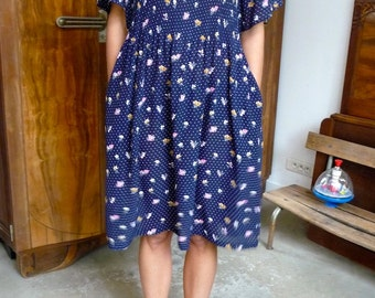 Robe fleurie 90s Taille 36-40