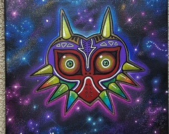 Zelda - Majora's Mask Canvas Art