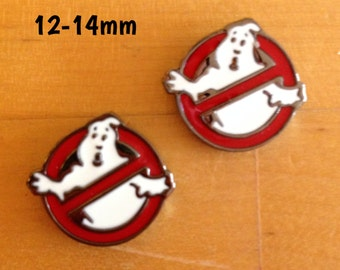 12mm-14mm Ghostbusters plugs for stretched ears