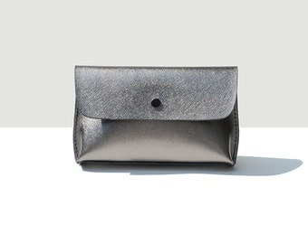 Silver Clutch, Silver Clutch Bag, Silver Bag, Silver Purse, Silver Leather, Leather Handbag, Wedding Clutch, Wedding Purse, Wedding Handbag