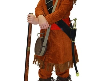 Children's Kit Carson or Jedediah Smith Explorer Attire, American Historical Figures, Frontier, Pioneer & Old West Clothing, School Events
