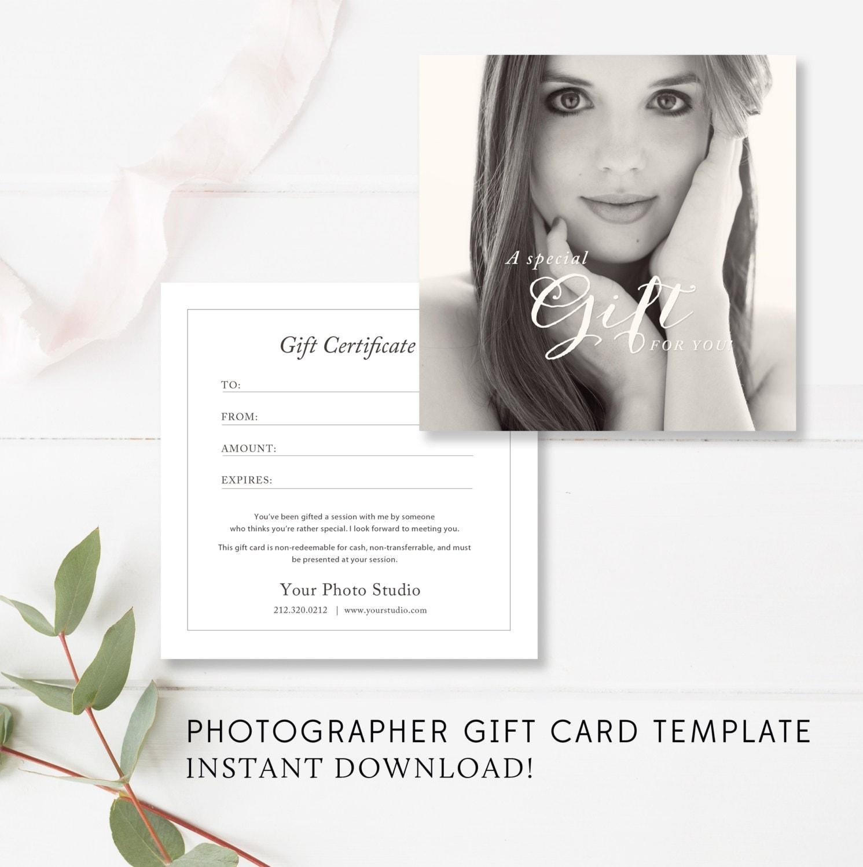 voucher template boudoir gift card template boudoir gift certificate photographer gift card template voucher instant