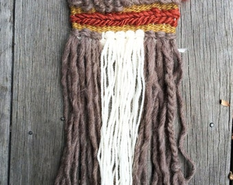 Wall Hanging // Hand woven Tapestry // Mini