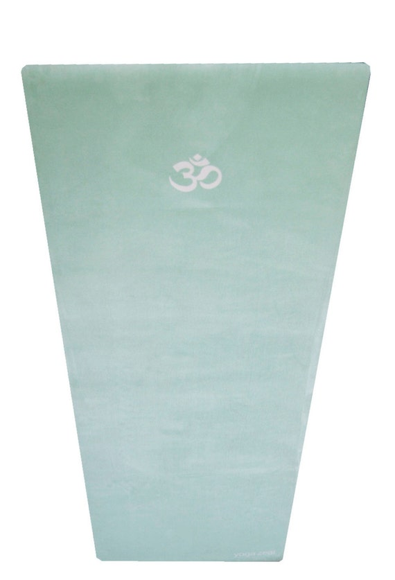 Sea Green Yoga Mat Om Symbol Yoga Mat Yoga Mats By