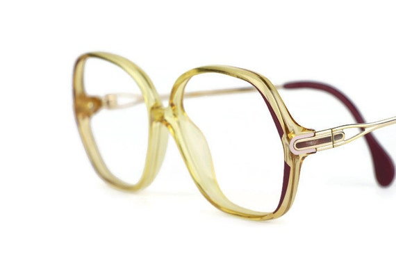 Zeiss Optical Glasses : ZEISS woman brown transparent glasses frame by ClassicalSense