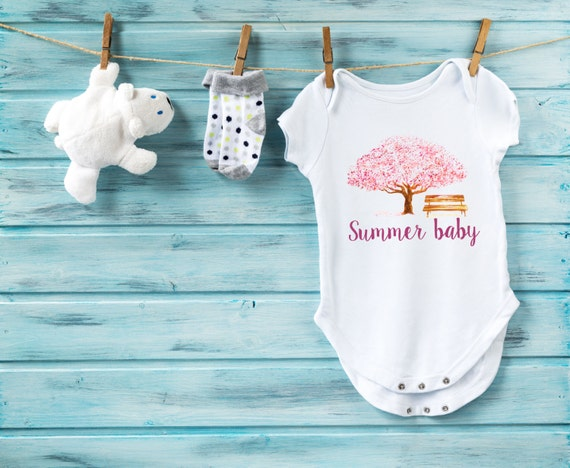Summer baby bodysuit hippie baby clothes baby by