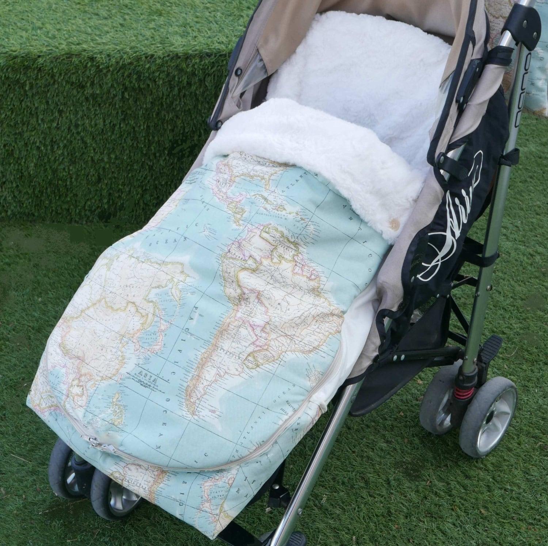 Patr n pdf saco universal para silla paseo beb patr n de for Saco para silla maclaren