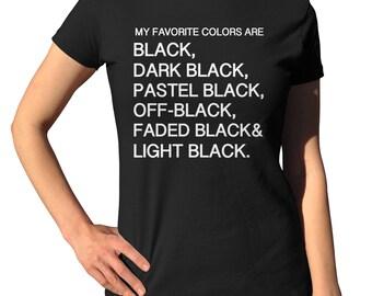 Black Shirt - Funny T Shirts - Cool T Shirts - Casual Shirts - Short Sleeve Shirts - Cotton Shirts - Metal Shirts - Funny Hairdresserer