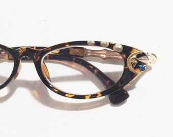 To the Moon and Back Reading glasses, women, +1.75, Cat eye glasses