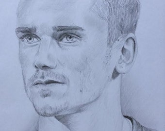 Portrait of Antoine Griezmann