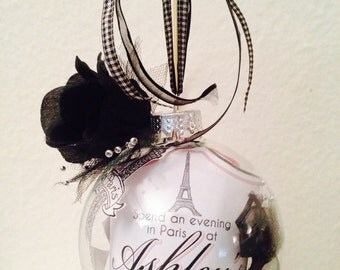 Personalized Sweet 16 Ornament