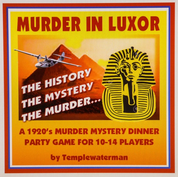 Murder Mystery Dinner Sheet Free: 1920's Murder Mystery Dinner Party Game For 10-14