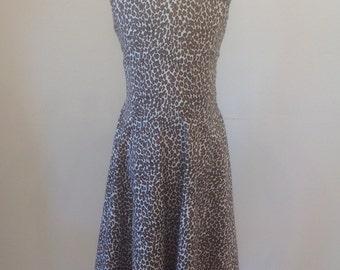 Leopard Print Girls Dress