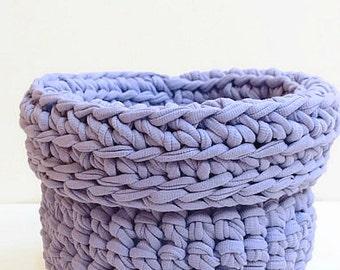 Crochet Basket Knitting Basket Storage Basket Crochet Designs Crochet Bag Yarn Basket Crochet Bowl Crochet Pot Cotton Basket Handmade Basket