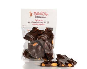 Dark chocolate with almond, Chocolate bark, almond chocolate, dark chocolate, milk chocolate, fine chocolate, roasted almond chocolate