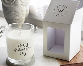 CUSTOM Personalised Gift Scented Soy Wax Candle *choose your message