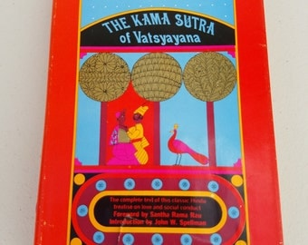 The Kama Sutra of Vatsyayana ** vintage 1963 Hindu classic book on love and social conduct