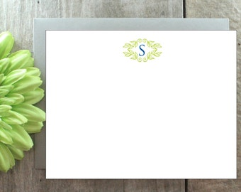 Personalized Stationery, Personalized Stationary, Personalized Monogram Stationery, Monogram Note Cards, Monogram Stationery, Note Card Set