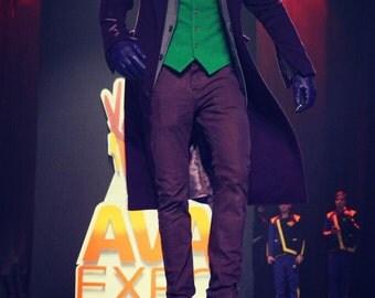 Joker Cosplay Raincoat and jacket