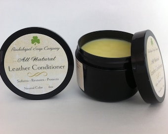 Leather Conditioner  All Natural - Rockchapel