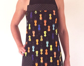 Women's Full apron - 'Mannequin Mania'