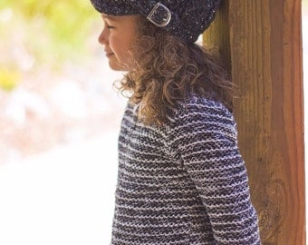 Charcoal Toddler Hat 1T to 2T Charcoal Sparkle Toddler Girl Hat Toddler Beanie Toddler Girl Beanie Toddler Girl Clothes Winter Hat Buckle