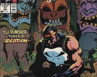Issue 17 PUNISHER War Journal (1988) Comic Book in VF Condition