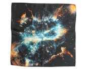 Musca Galaxy Silk Handkerchief