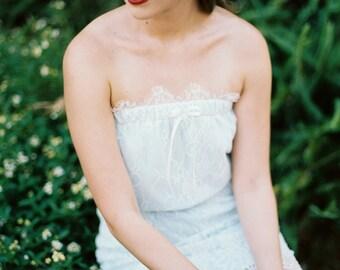Sample Sale, Bella, Lace Mini Dress, Strapless Dress, Bridesmaids, Bride, Bridal , EveryDay Dress, Honeymoon, Getting Ready
