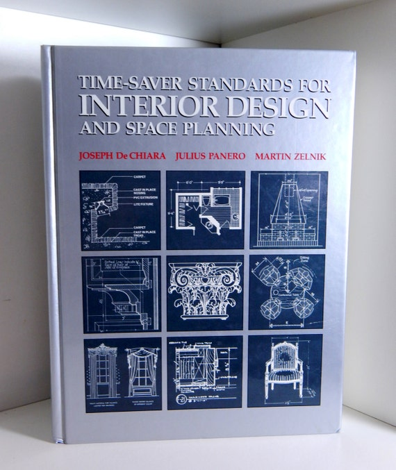 Vintage Book Text Book Time Saver Standards For Interior