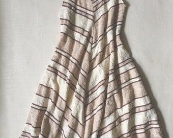 A-Line Dress, Tea Length, S