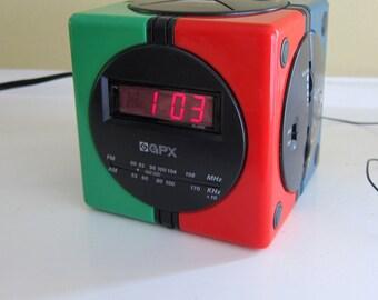 GPX Gran Prix Model D 530 Digital Clock Radio
