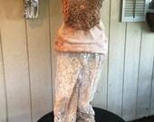 Vintage Lace Prairie Pants Shabby Chic Rodeo Romantic Bohemian Boho Chic Unique