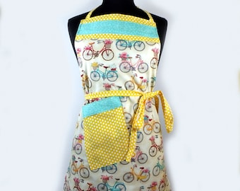 Bicycle Full Adult Apron
