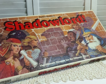 1983 Shadowlord Board Game Parker Brothers