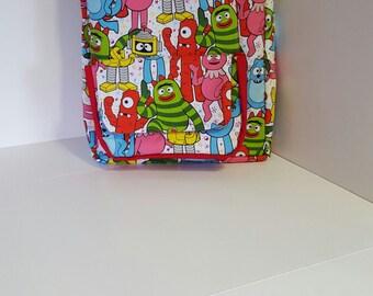 Happy Robots Preschool Backpack
