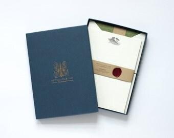 Landscape Letterpress Letterhead Box Set