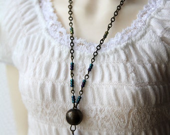 Morna - SD necklace in dark colors