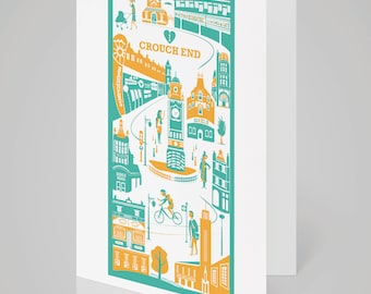 Crouch End, London card