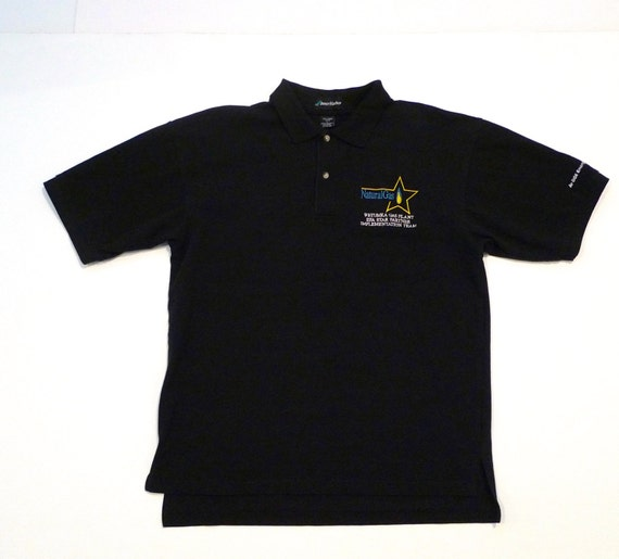 Natural gas polo t shirt funny gift vintage embroidered