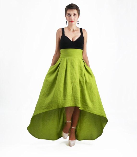 maxi skirt skirt high low skirt plus size skirt high