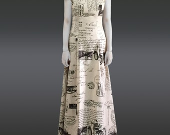 Printing Gown / Dress